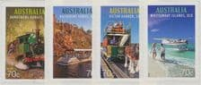 AUS SG4332-5 Tourist Transport self-adhesive set of 4 singles from roll